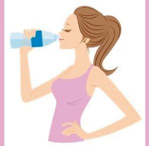Agua después del ejercicio