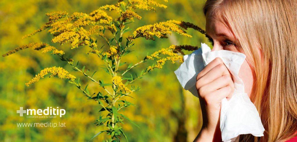 Ataque de asma: alergia al polen