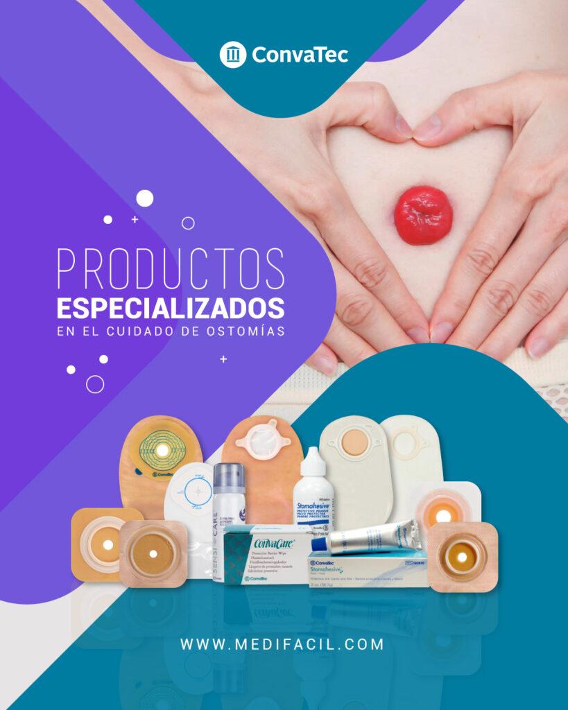 Medifácil Tienda en Línea: Productos ConvaTec especializados en el cuidado de ostomías