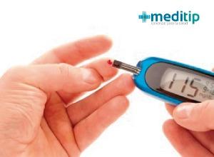 prueba de glucosa con glucómetro