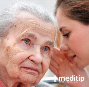 Pérdida de audición por envejecimiento