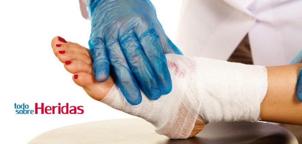 Explicación sencilla de la diabetes: heridas que no sanan