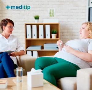 Evaluación de paciente para cirugía para bajar de peso