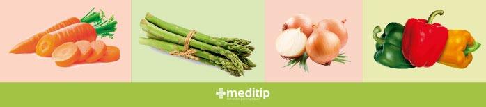 Vegetales parte de la dieta del hipertiroidismo