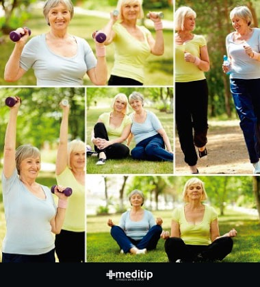 Ejercicio para tratar la osteoporosis