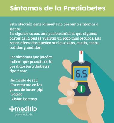 Síntomas de la prediabetes