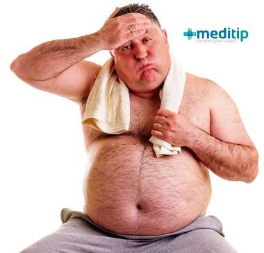 Sobrepeso y su relación con el calor
