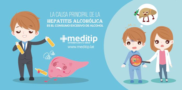 Causa de la hepatits alcohólica