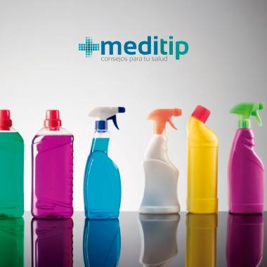 Productos de limpieza que provocan reacciones en el cuerpo