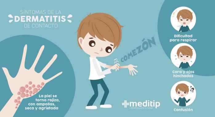 Casos de alergia severa - dermatitis de contacto