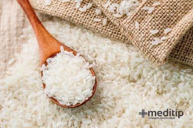 Dieta de la enfermedad renal: arroz, alimento bajo en fósforo