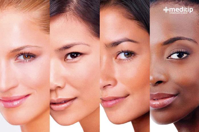 La melanina y la definición del color de la piel