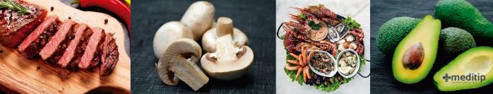 Ácido úrico: alimentos ricos en purinas