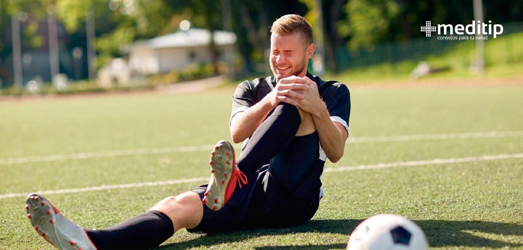 Causas comunes del dolor de rodilla en atletas: lesión deportiva