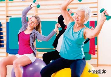Fisioterapia: ejercicios, confianza en el cuerpo