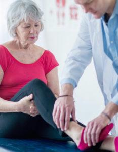 Fisioterapia de tobillo