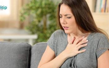 Signos tempranos de mala circulación: dificultad para respirar