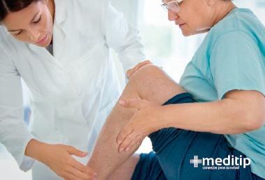 Dolor de pierna: examinación médica