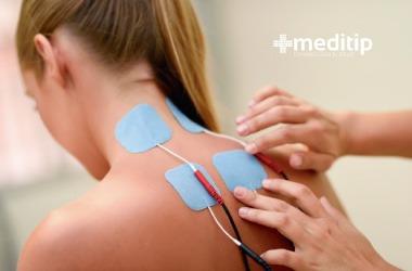 Fisioterapia de cuello: Estimulación nerviosa eléctrica transcutánea
