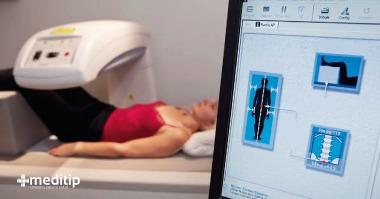 Densitometría ósea: procedimiento de la prueba