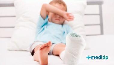 Fractura: fracturas en niños