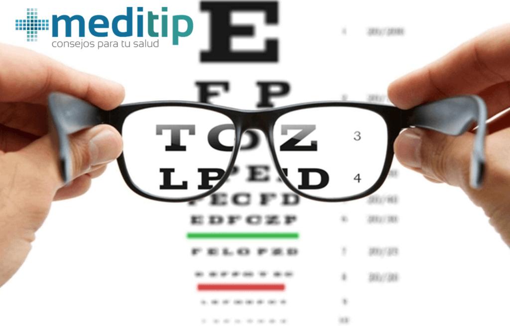Salud visual: examen de la vista
