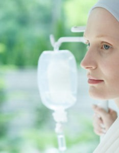 Cómo funciona la quimioterapia: paciente en tratamiento