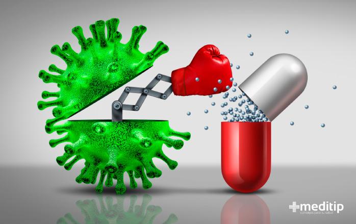 Función de los antibióticos: resistencia a los antibióticos
