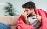 Factores de riesgo de la influenza: hombre joven con influenza