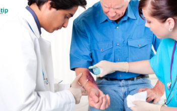 Colores de las heridas: fases del proceso de curación de heridas