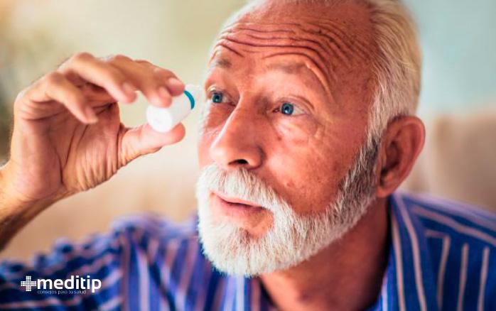 Tratamiento del glaucoma: gotas para los ojos