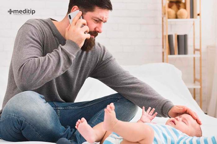 Imitadores de la epilepsia: convulsiones debido a fiebre en bebés