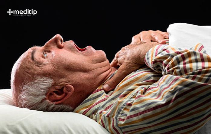 Convulsiones nocturnas y daño en la cavidad bucal por epilepsia