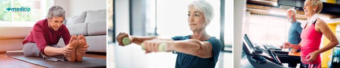 Fisioterapia para adultos mayores por dolor de rodilla debido a osteoartritis