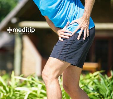Desgarro traumático del labrum de cadera por lesión deportiva