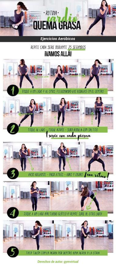 ejercicios para aliviar el dolor de articulaciones: rutina de ejercicios aeróbicos