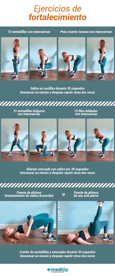 ejercicios para aliviar el dolor de articulaciones: rutina de ejercicios de fortalecimiento