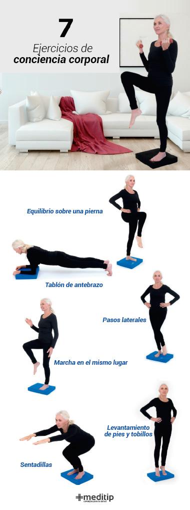 ejercicios para aliviar el dolor de articulaciones: ejercicios de conciencia corporal