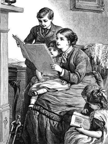 Mujer joven con cuatro hijos: fertilidad femenina