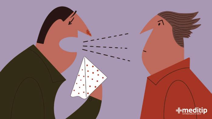 Estornudo y aerosoles: visión general del coronavirus