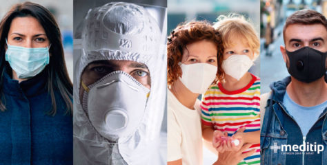 Uso correcto de cubrebocas y respirador de alta eficiencia: ¿brindan protección contra Covid-19?
