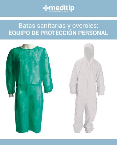 Medidas de seguridad para profesionales de la salud: batas sanitarias y overoles