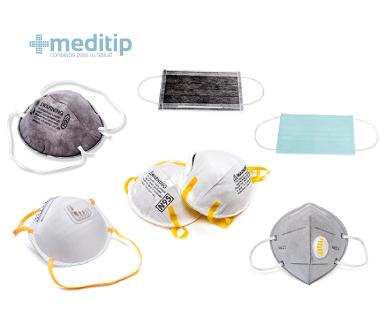Cubrebocas y respiradores de alta eficiencia: equipo de protección personal