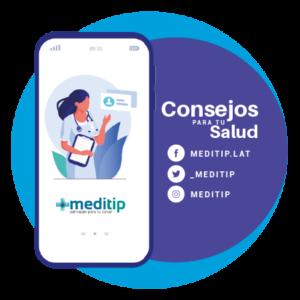 Icono Redes Sociales Meditip, El Portal de la Salud