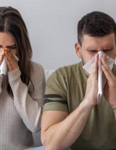 Terapia para el manejo de síntomas respiratorios como inflamación de la nariz, congestión y secreción