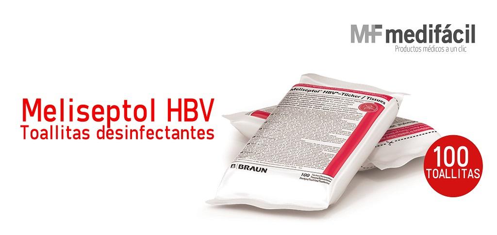 Meliseptol HBV Toallitas Desinfectantes: Medifácil