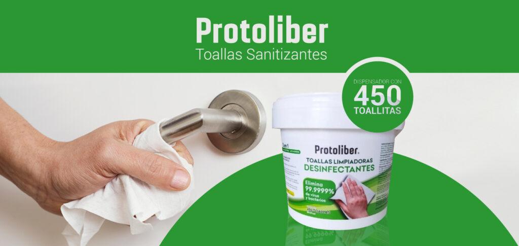 Toallitas desinfectantes Protoliber: Neotecnia, Tienda en Línea